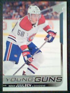 NOAH-JUULSEN-18-19-AUTHENTIC-UDS2-YOUNG-GUNS-CARD-SP
