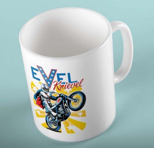 Evel Knivel Merchendaise 11oz Coffee Mugs