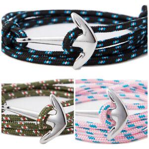 Anker Surfer Style blau Wickelarmband neu Surferschmuck Armband Herrenarmband
