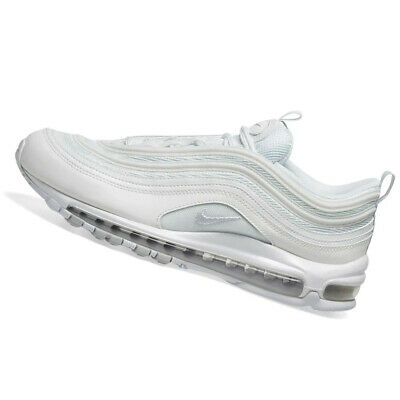 NIKE WOMENS Air Max 97 White & Pure Platinum 921733 100 | eBay