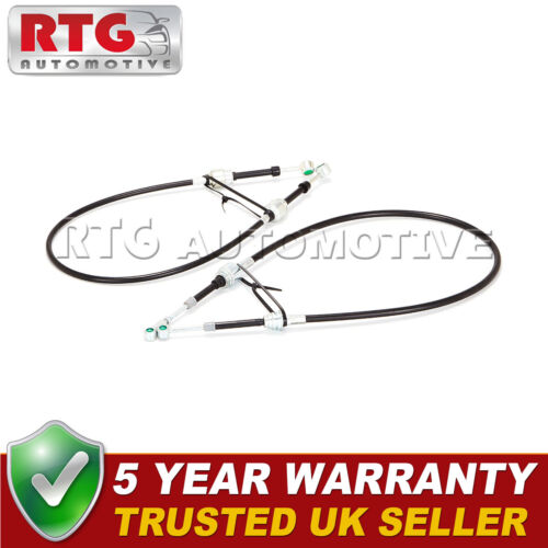 2x Gear Selector Linkage Cables Fits Fiat Punto Mk2 1.4