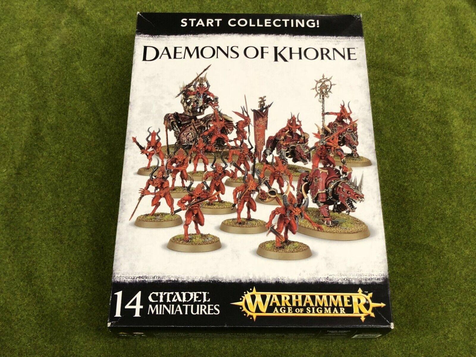 Estrellat Collecting  Daemons of Khorne  - gratuito SHIPPING  in vendita