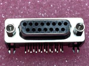 26-x-5504F1-15S-01-03-D-Sub-15-way-R-A-PCB-Female