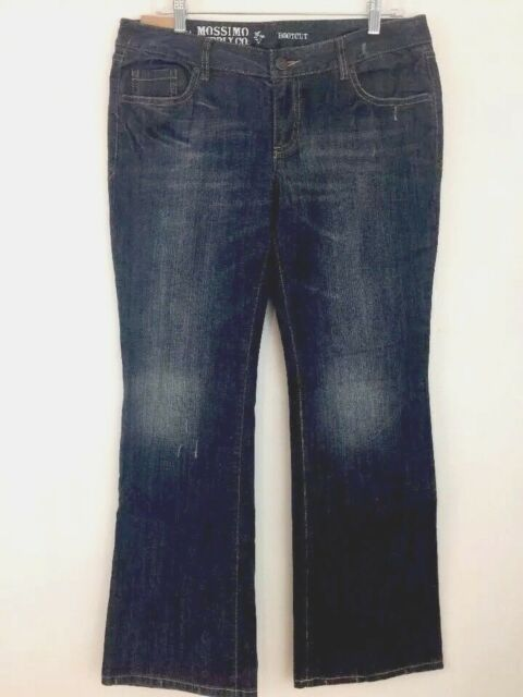 23edfa7f3a3 Mossimo Juniors Bootcut Jeans Size 13s 13 Short Blue Distressed ...