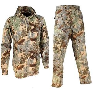 Top 2 pc Kings Camo Pants & Hoodie Classic Bundle Desert Shadow Mens Hunting Lot for cheap