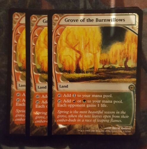 Mtg grove of the burnwillows x 1 great condition