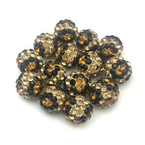 10mm-Polymer-Leopard-Clay-Shamballa-Disco-Pave-Crystal-Tiger-Eye-Bracelet-Beads