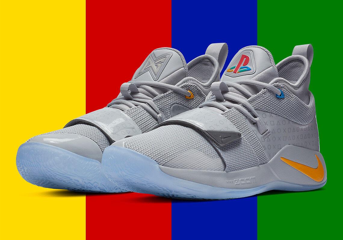 Nike PG 2.5 x Playstation Wolf Grey BQ8388-001 Men Size US 10 NEW Limited