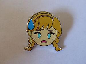 Disney Trading Pins 123198 Emoji Blitz - Booster Set - Anna Nervous