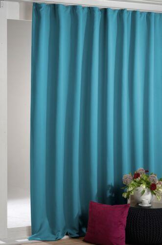 Arsvita Verdunkelungsgardine Vorhang mit Kräuselband