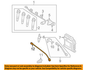 image is loading kia-oem-06-11-rio-engine-crankshaft-crank-