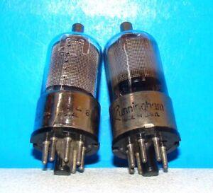 Tung-Sol 6K7 Vacuum Tube Valve Mesh Plate Metal Base