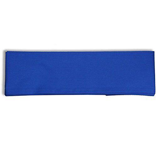 "Japanese 4/""Wx110/""L Vintage COTTON Kimono Yukata Wide Obi Belt Blue Made in Japan"