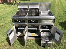 Frymaster Double Electric Fryer Model Fh217sc 240v 3ph Xtra Clean Filtration