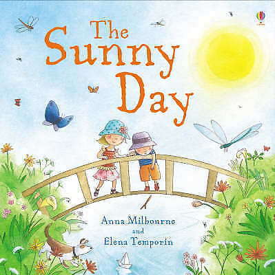 1 of 1 - Milbourne, Anna, The Sunny Day (Usborne Picture Storybooks), Very Good Book