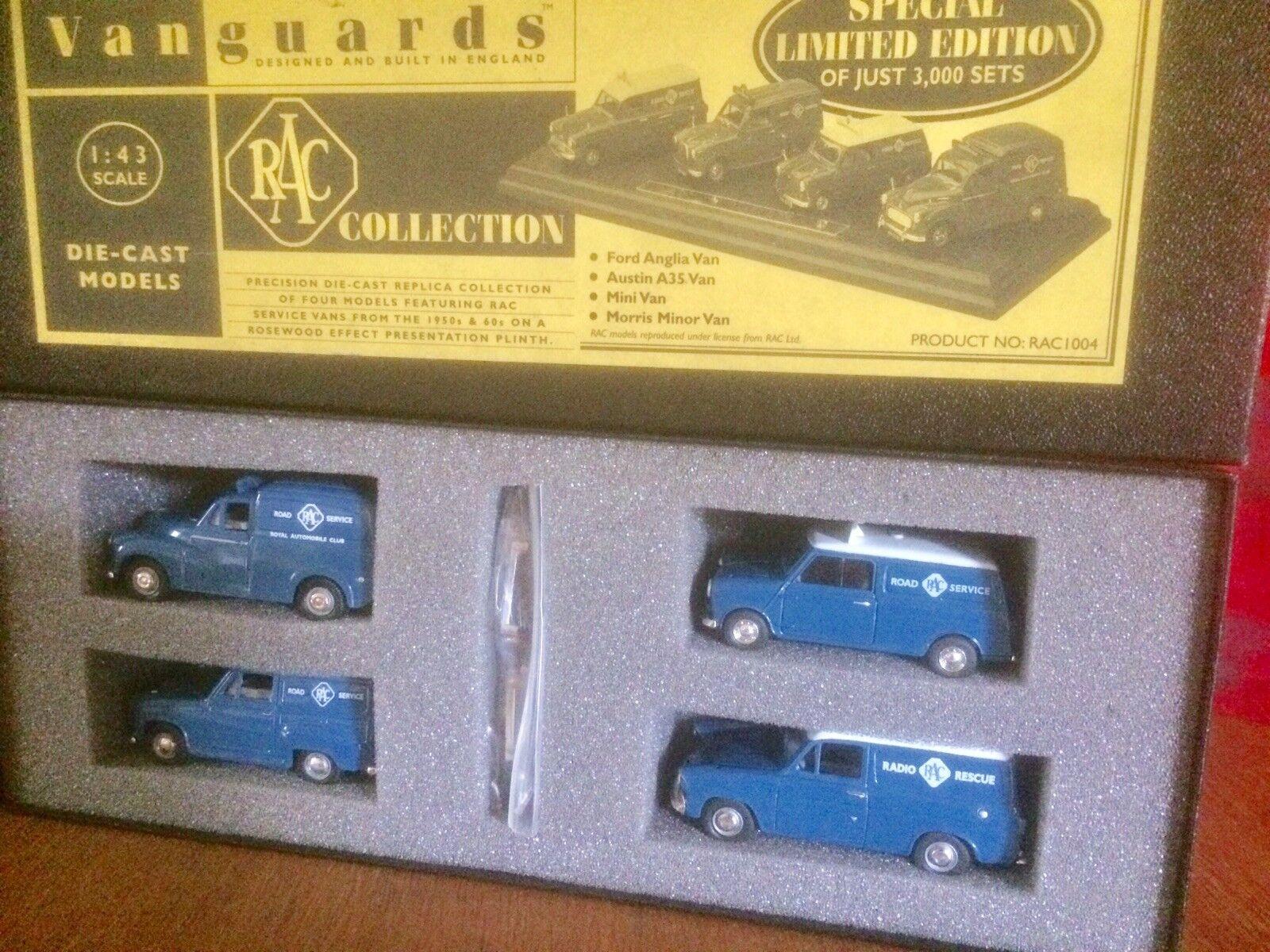 Vanguards RAC Collection Special Ltd Edition RAC1004-Morris, Mini, Austin, Ford.
