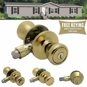 Image Is Loading Pro Grade Mobile Home Door Knobs Handles Hardware