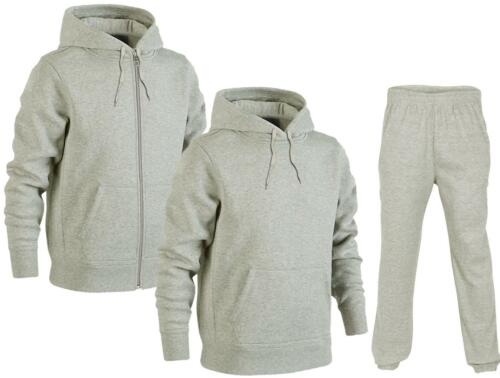 Sold as Separates *Tracksuit Mens Plain Hoodie /& Joggers