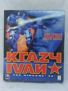 Krazy-Ivan-PC-BIG-BOX-w-Game-Disc-and-Manual