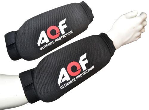 AQF avambraccio Pads Protettore telaio sostegno guardie Guard MMA Imbottito protezione