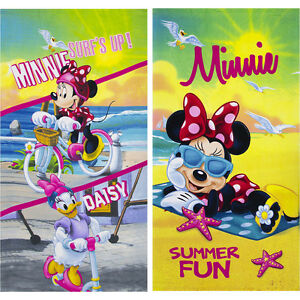 Official Licensed Disney Minnie Daisy Beach Towel Swim