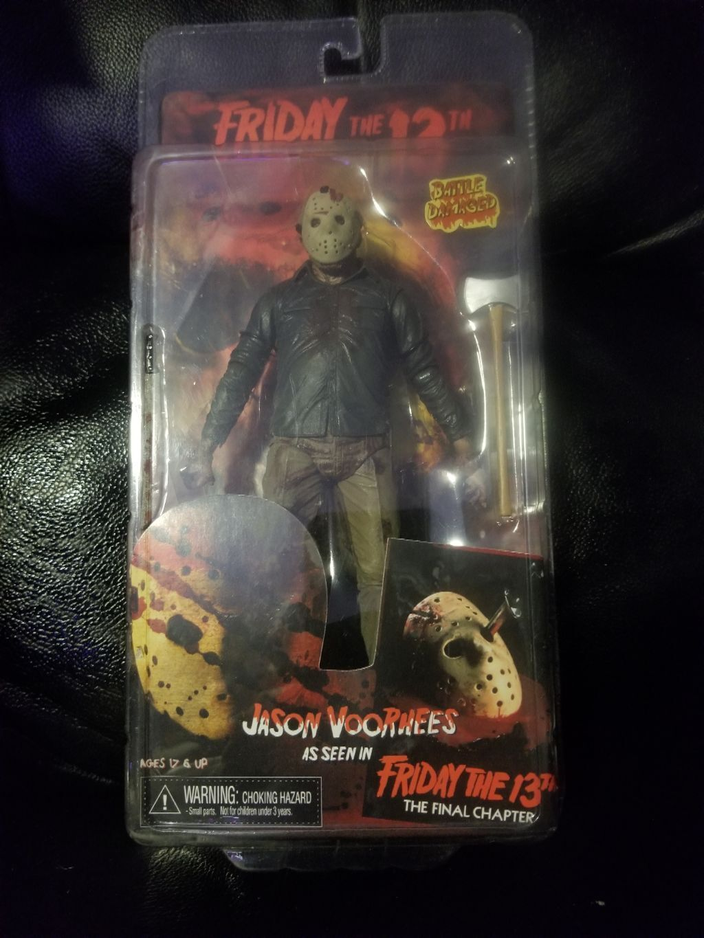 Neca friday the 13th the final chapter battle damaged