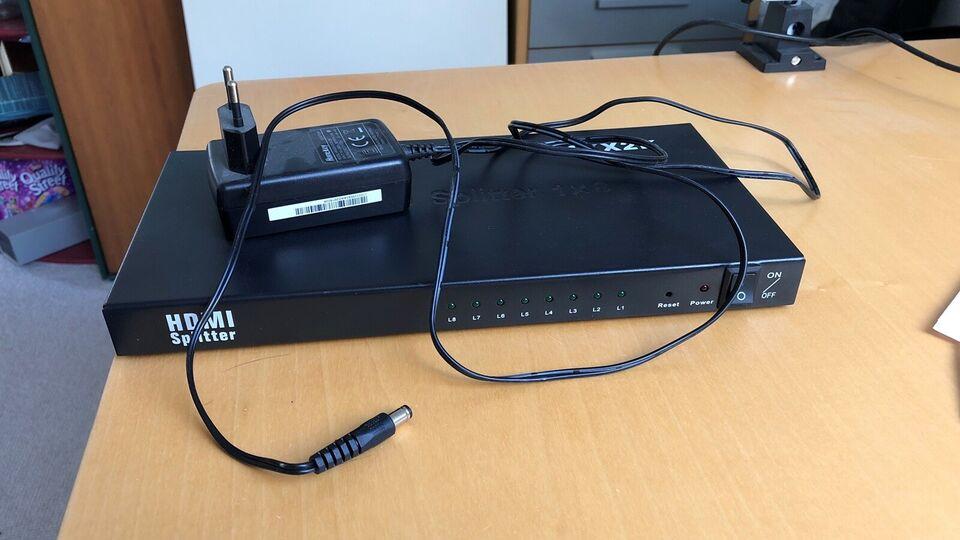 MicroConnect HDMI Splitter, MicroConnect, Perfekt