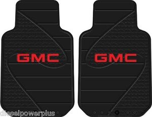 chevy chevrolet logo gm floor mats bow tie logo rubber car truck auto universal