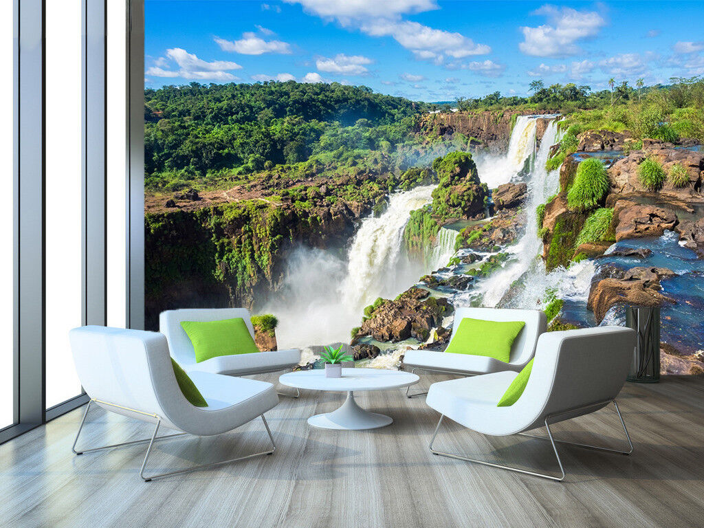 3D Jungle River Sky 86 Wall Paper Murals Wall Print Wall Wallpaper Mural AU Kyra