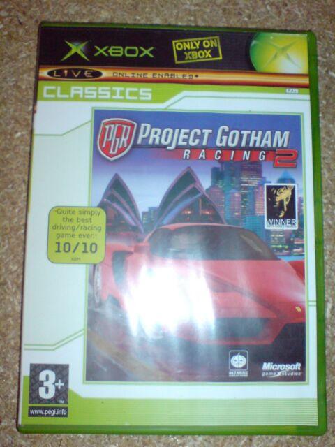 PROJECT GOTHAM RACING 2 (X BOX) USED
