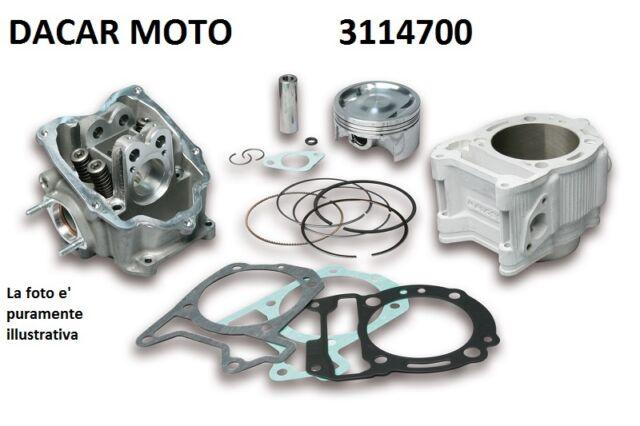 3114700 THERMAL UNIT MALOSSI aluminium H2O PIAGGIO MP3 300 ie 4T LC