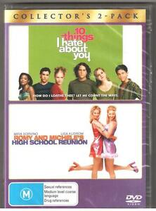 2-DVD-SET-10-THINGS-I-HATE-ABOUT-YOU-amp-ROMMY-amp-MICHELE-039-s-HIGH-SCHOOL-REUNION