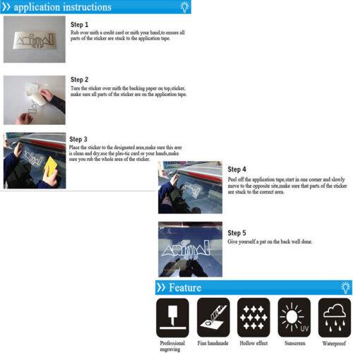 Dog Vinyl Decal Sticker Car Truck Window Bumper Wall Macbook PC Tablet 6 Types