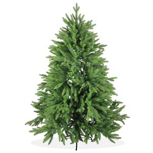 Künstlicher DeLuxe Tannenbaum 150cm PE Spritzguss Grüner Christbaum;PT10