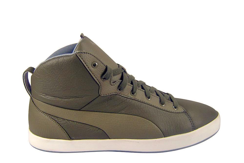 Puma Soligo Glide Mid Neu grau/khaki Neu Mid Zapatos/Stiefel/botas 812007