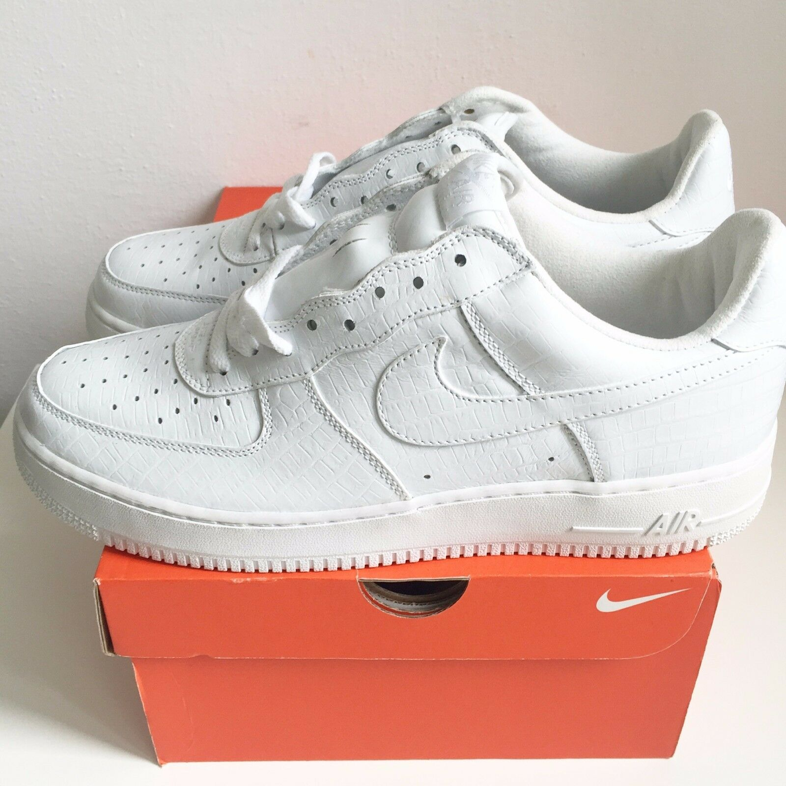 Nike Air Force 1 ONE LOW US10.5 'White HTM 2' 2004 US10.5 LOW UK9.5 EUR44.5 CM28.5 b4fd65