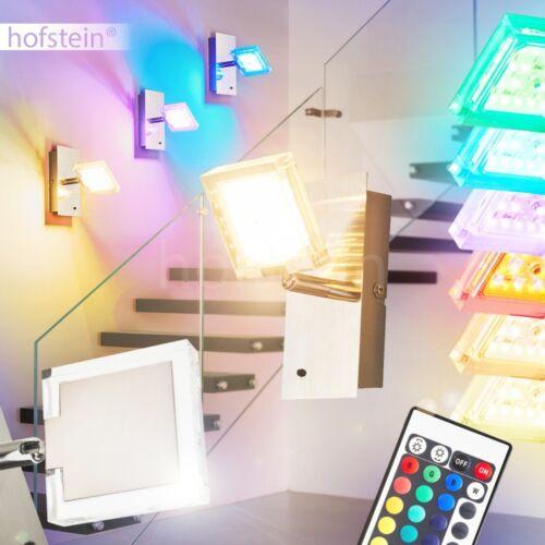 RGB DEL Couleur Mur Lampes Télécommande salon chambre éclairage