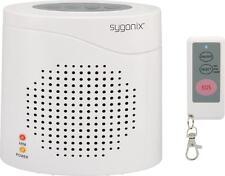 Elektronischer Wachhund Weiß  mit Fernbedienung 120 dB Sygonix