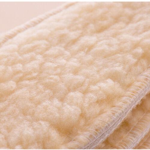 New Winter Boot Shoe Warm wool Fleece Thermal Insoles for Men Women 1 pairFDCA