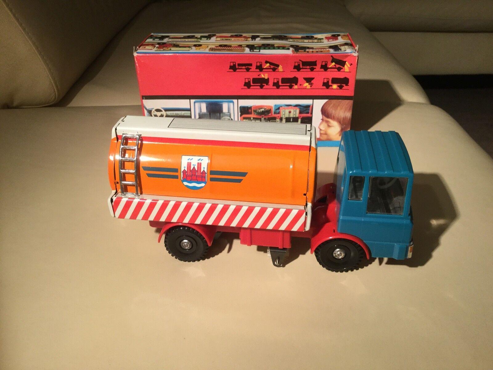 Original kehrwagen Weimar 2062 tôle jouets RDA  vintage de collection rare  sortie d'exportation