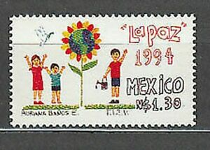 Mexico - Mail 1994 Yvert 1524 MNH