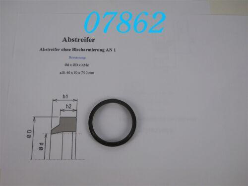 ABSTREIFRING  45 x 53 x 7//5 Mm  PROFIL AN1 MERKEL ABSTREIFER