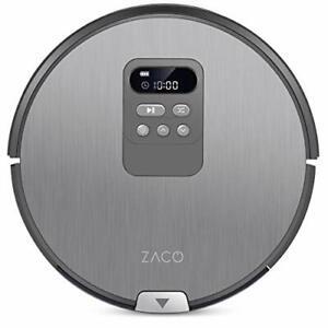 ZACO V80 – Robot lavapavimenti e aspirapolvere 2 in 1 con display LCD (t5J)