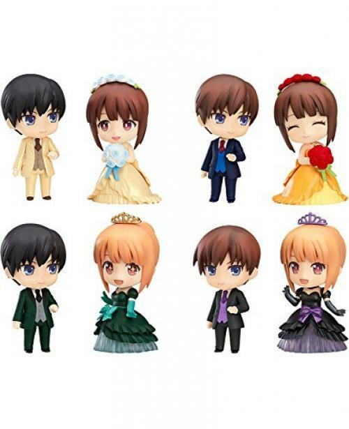 NEW Nendgoldid More Dress Up Wedding Elegant Ver Figure 8 Pcs BOX Set GSC WF2017
