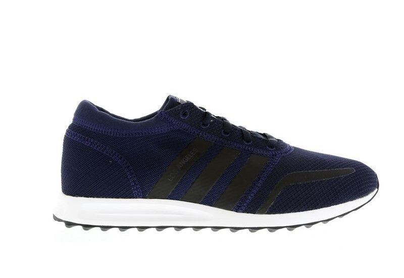 Adidas Originals Los Angeles Zapatos para hombres Zapatos Angeles  Entrenadores la BA8417 Azul Marino/Blanco 9dcebe