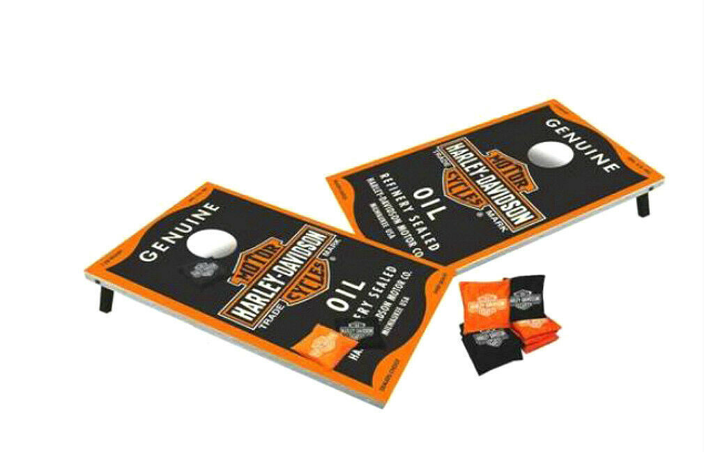 Harley-Davidson  Genuine Oil Can Full Size Bean Bag Toss Game Set 66236D