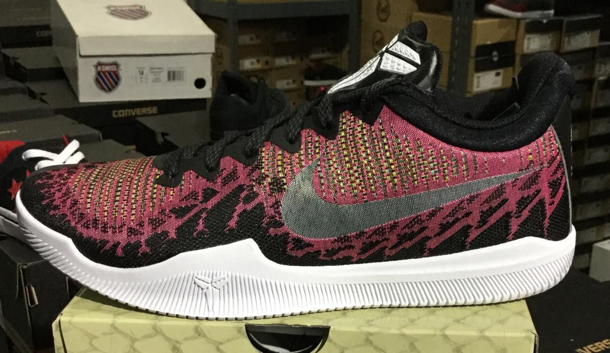 NIKE Mamba Rage Men's Running Shoes Pink/Black/White Sz8-12 L
