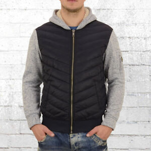 Jet Details Blue Quilted Jacket Original Cardigan Knitted Show Title Lag Men Down About Grey Y7v6bgIfy