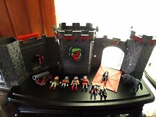 12  Playmobile TAKE-ALONG CASTLE  Play Set -Knights, Catapult & Horse Pieces