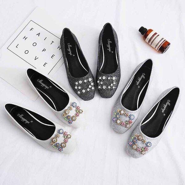 Ballerine mocassini scarpe donna eleganti nero grigio 1545 bianco 1 1545 grigio   4969ab